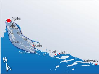 Blue cruise - Route RF – Naturistencruise