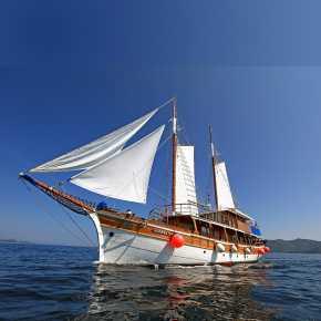 Bluecruise schip in Kroatie aangeboden door IDRiva Tours