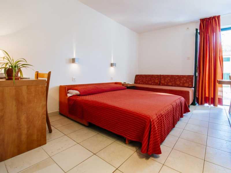 Zaton Holiday Resort studio AP3 3 sterren slaapkamer