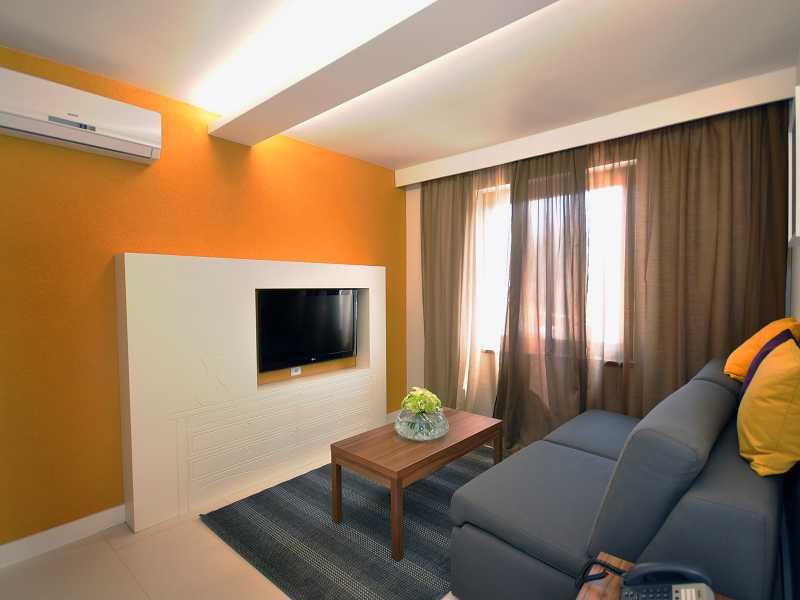 Appartementen Park Plaza Verudela zitkamer