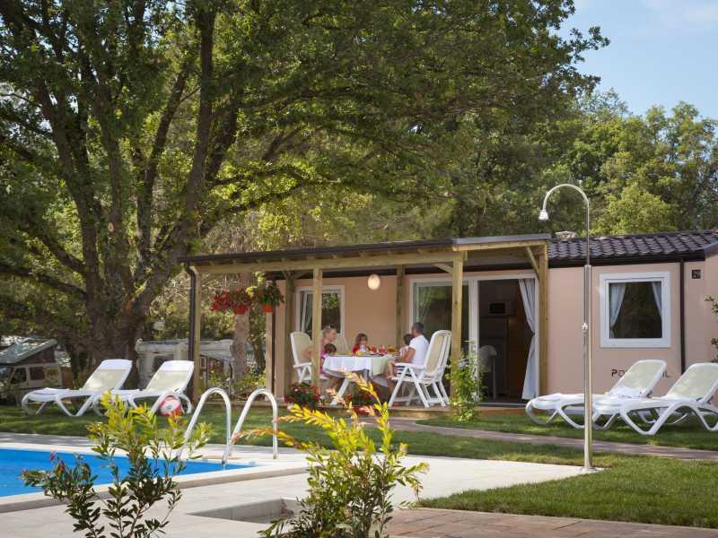 Camping Valkanela Maistra Premium stacaravan