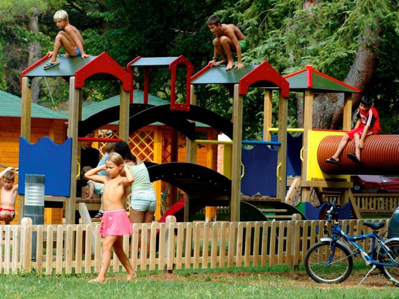 Camping Valkanela Maistra Kinderspeeltuin