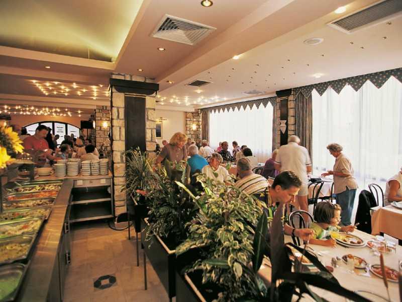 Naturistenresort Koversada restaurant
