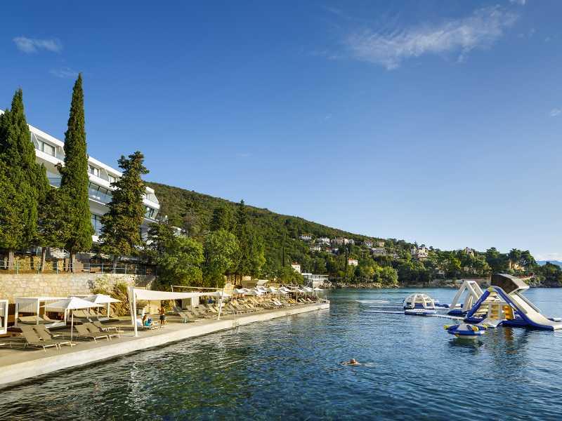 Remisens Hotel Giorgio Terras en strand