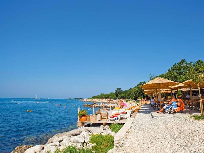 Standplaats Camping Bijela uvala - Istrië - Kroatië - Poreč