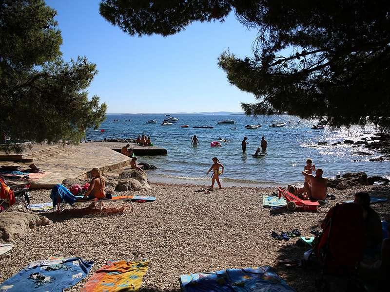 Camping Kozarica- stacaravans - Kroatië - Noord-Dalmatië - Pakostane