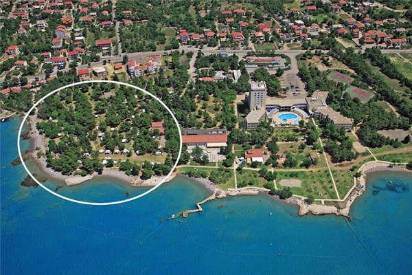 Camping Paklenica - Kroatië - Noord-Dalmatië - Starigrad-Paklenica