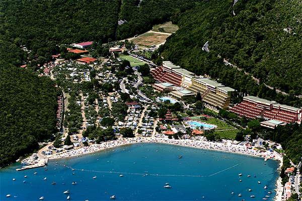 Camping Oliva Rabac - Istrië - Kroatië - Rabac