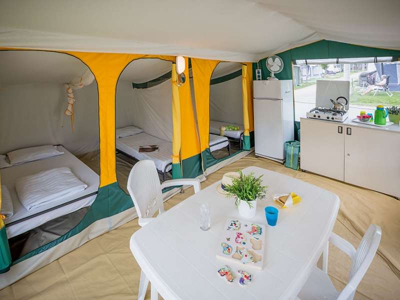 Camping Bijela Uvala – Roan - Istrië - Kroatië - Poreč