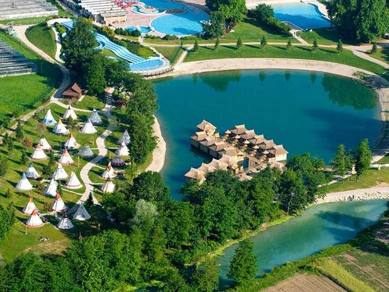 Camping Village Terme Catez-stacaravans - Catez ob Savi - Regio Slovenië - Slovenië