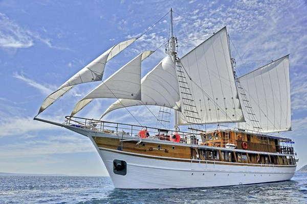 M/S OTAC IVAN Eilandhoppen & raften Dalmatië – route