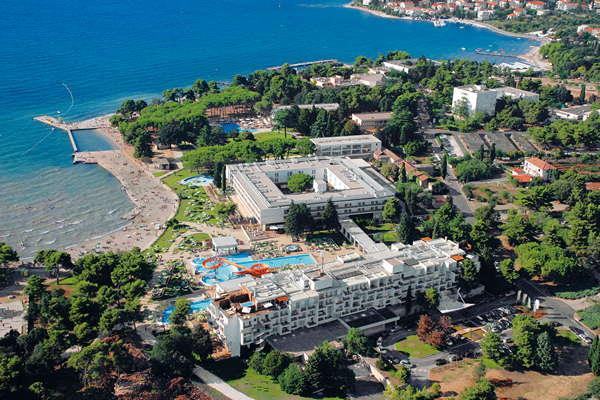 Hotel Club Funimation Borik **** - Kroatië - Noord-Dalmatië - Zadar