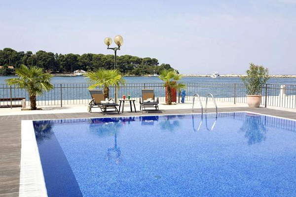Grand Hotel Palazzo **** - Istrië - Kroatië - Poreč