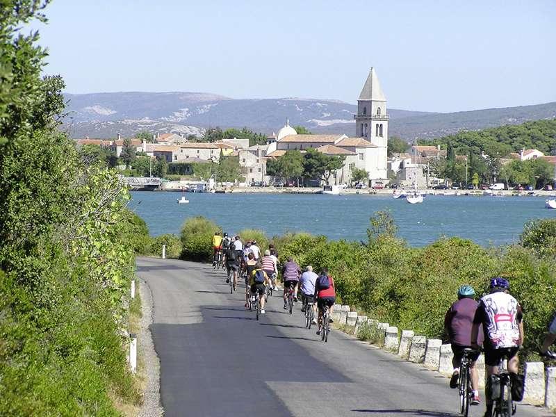 Blue cruise - Route RB – Fietsend eilandhoppen door de Kvarner regio