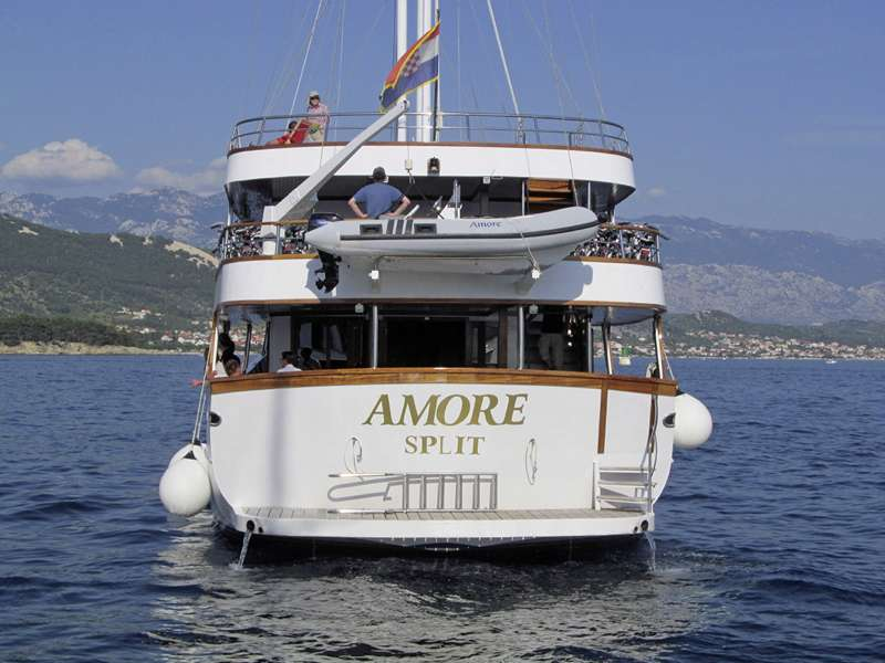 Blue cruise - MS Amore