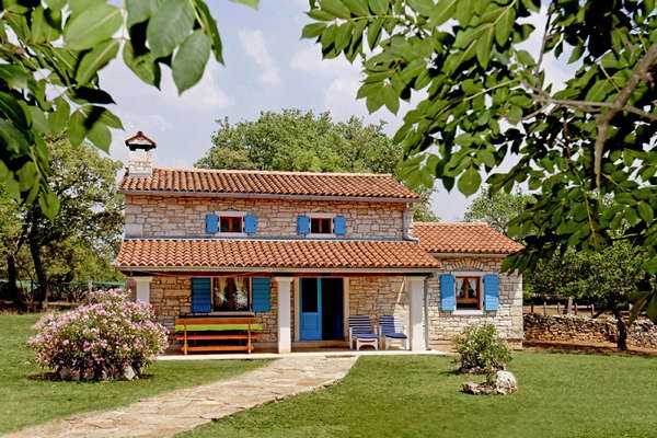 Vakantiehuis Pićanci - Bibići - Istrië - Kroatië