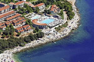 Appartementen Park Plaza Verudela **** - Istrië - Kroatië - Pula