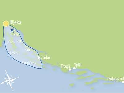 Blue cruise - M/S OTAC LUKA – route R7