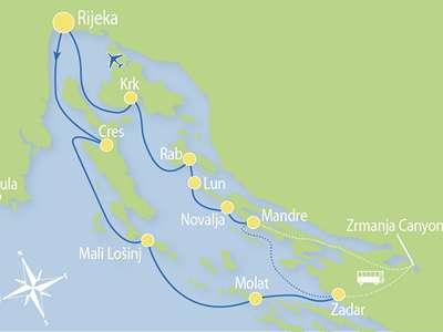 Route RC – Actief en Relax combinatie cruise
