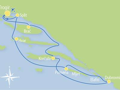 Blue cruise - M/S MACEK – route T3