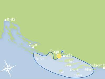 Blue cruise - M/S MACEK – route T7