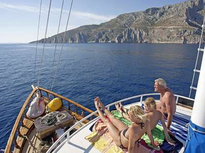 Blue cruise - M/S ANETA Actief & Relax combinatie – route TC