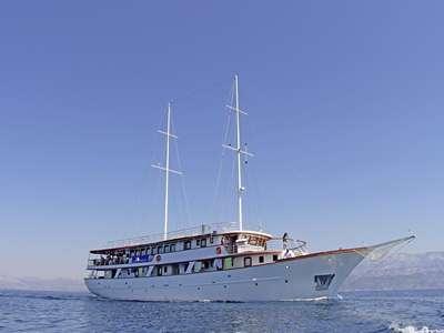 Blue cruise - schip MS Carpe Diem