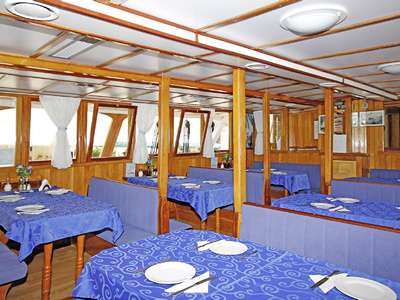 Blue cruise - M/S OTAC IVAN – route T4