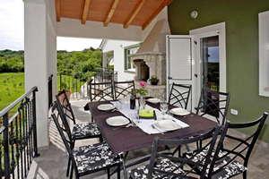 Vakantiehuis Villa Paliska - Istrië - Kroatië - Ripenda kras